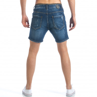 Мъжки къси дънки с връзки на кръста it190417-60 3
