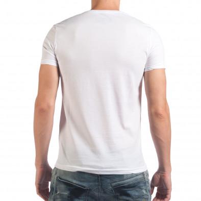 Мъжка бяла тениска Bad Boy il060616-7 3