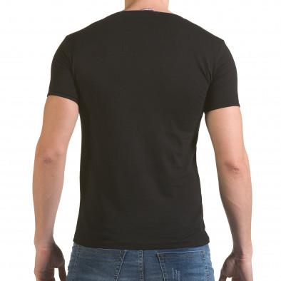 Мъжка черна тениска Made in USA il170216-82 3