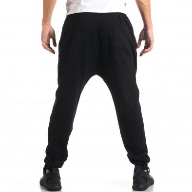 Мъжки черни потури с метални ципове it160916-41 3