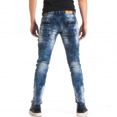 Мъжки дънки с допълнителни шевове it150816-9 3