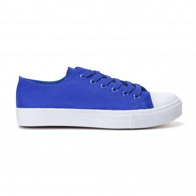 Мъжки сини кецове изчистен модел it250118-1 3