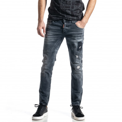 Мъжки сиви дънки Destroyed tr010221-35 2