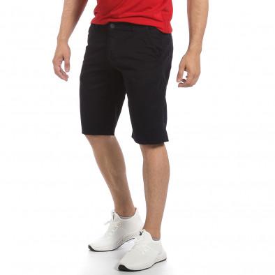 Мъжки тъмносини къси панталони & Big Size tr040621-24 4