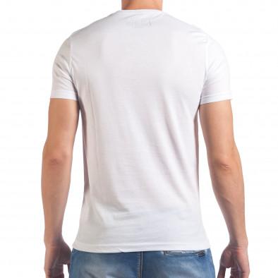 Мъжка бяла тениска Just Do It Later il060616-11 3