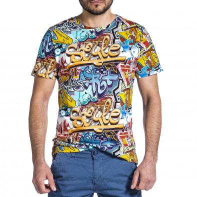 Мъжка тениска с комикси Style it200421-5 3