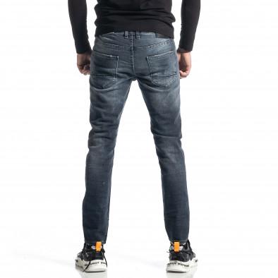 Мъжки сиви дънки Destroyed tr010221-35 4