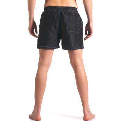 Мъжки черни бански с джобове it250416-60 3