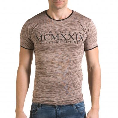 Мъжка розова тениска MCMXXIX il120216-37 2