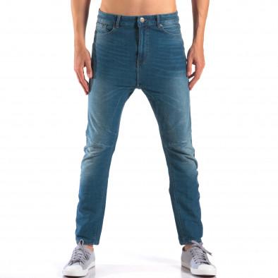 Мъжки дънки от мека лятна материя it160616-20 2