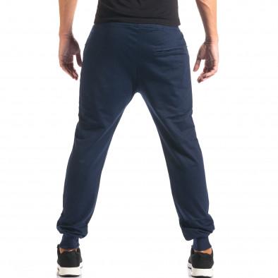 Мъжко синьо долнище с номер it160816-31 3