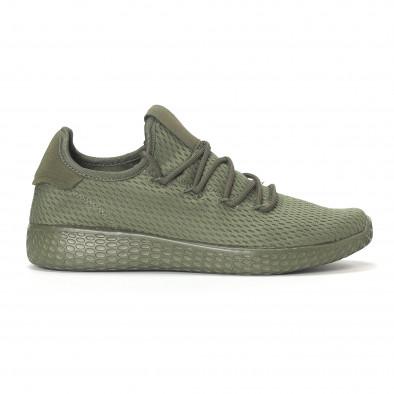 Мъжки зелени леки маратонки All-green it240418-7 2