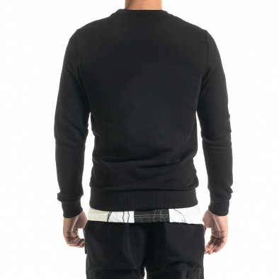 Basic мъжка памучна блуза в черно tr020920-45 3