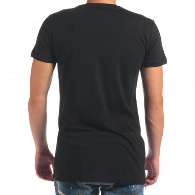 Мъжка черна тениска Think Outside The Box il210616-10 3