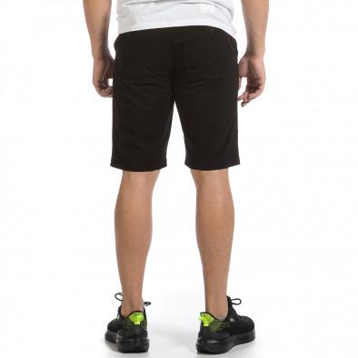 Мъжки черни къси панталони & Big Size tr040621-26 4