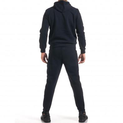 Мъжки син спортен комплект с надпис it160916-56 3