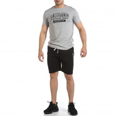 Мъжки комплект California в сиво и черно it040621-1 3