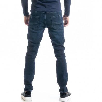 Long Slim мъжки дънки от плътен деним tr300920-1 3