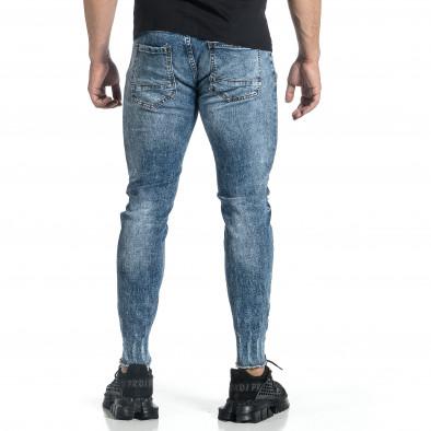 Мъжки дънки с еластични прокъсвания Capri fit it150521-39 3