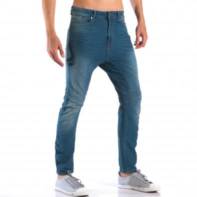 Мъжки дънки от мека лятна материя it160616-20 4