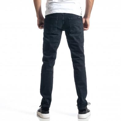 Long Slim мъжки тъмносини дънки tr010221-30 3
