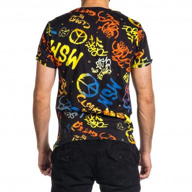Мъжка тениска с комикси Hippy it200421-7 4