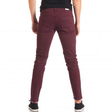 Мъжки червен спортно-елегантен панталон it150816-4 3