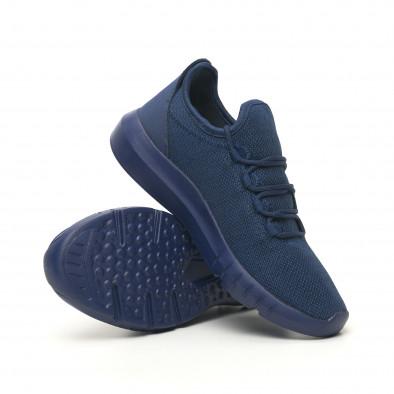 Леки мъжки маратонки син меланж it041119-2 4