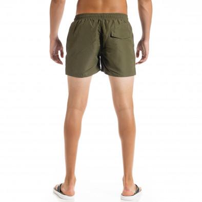 Basic мъжки бански милитъри зелено it010720-39 3