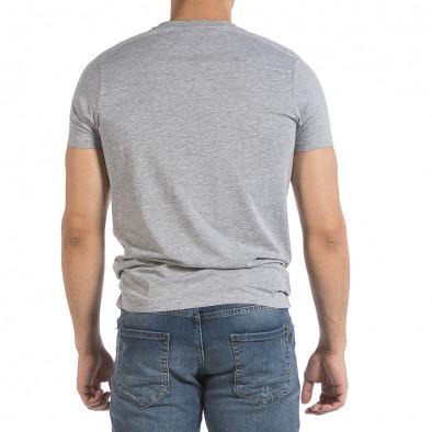 Мъжка сива тениска Superior it040621-12 3