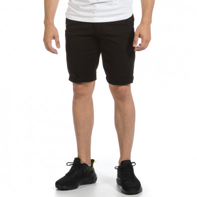 Мъжки черни къси панталони & Big Size tr040621-26 3