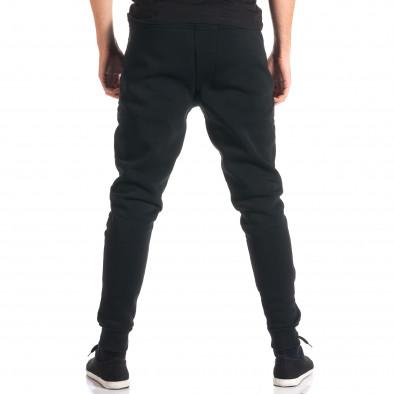 Мъжки черни потури с ципове на джобовете ca280916-11 3