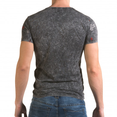 Мъжка сива тениска Casino Lagos 4