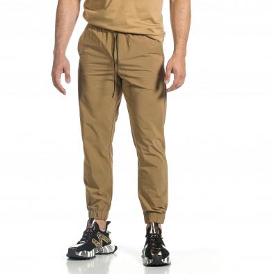 Мъжки шушляков панталон Jogger цвят каки tr150521-29 3
