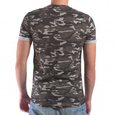 Мъжка камуфлажна тениска il210616-5 3