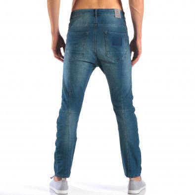 Мъжки дънки от мека лятна материя it160616-20 3