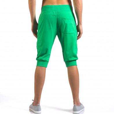 Мъжки зелени къси потури класически модел it160316-19 3