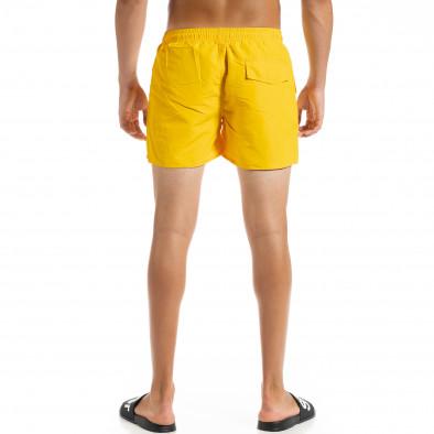 Basic мъжки жълт бански it010720-40 3