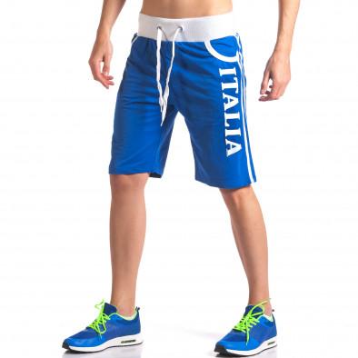 Мъжки сини шорти Italia Dress&GO 5
