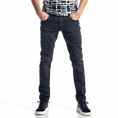Long Slim мъжки черни дънки tr010221-28 2