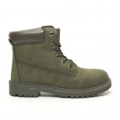 Мъжки милитъри зелени боти класически модел it251019-20 2