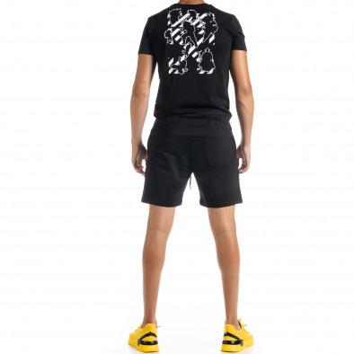 Черен мъжки спортен комплект Naruto tr010720-6 3