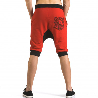 Мъжки червени къси потури NYC it110316-87 3