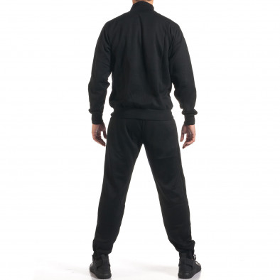 Мъжки черен спортен комплект с релефен надпис N&Y it160916-82 3
