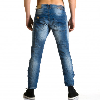 Мъжки дънки с допълнители шевове ca190116-9 3