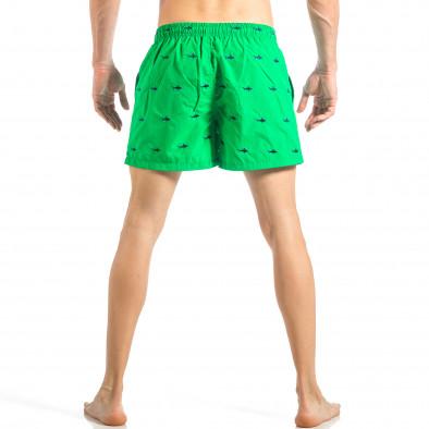 Мъжки зелен бански на акули it040518-102 4
