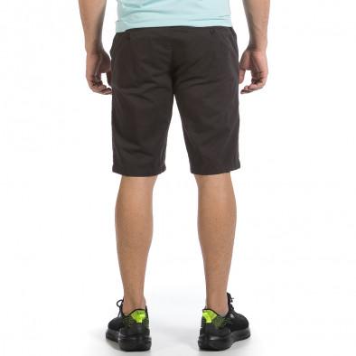Мъжки сиви къси панталони & Big Size tr040621-25 3
