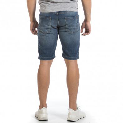 Мъжки сини къси дънки tr040621-28 3