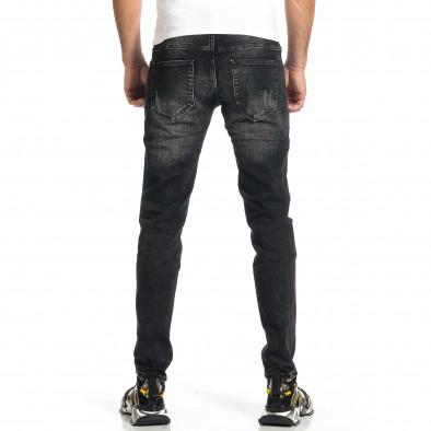 Мъжки черни дънки Destroyed  gr270421-19 3