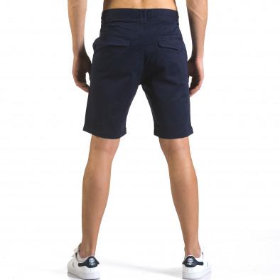 Мъжки тъмно сини къси панталони с връзки Marshall 5
